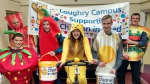 Loughry students participating in Children in Need