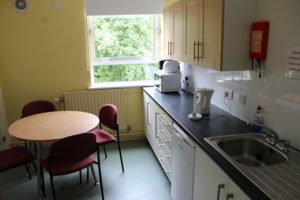 Student kitchen in Shannon Hall