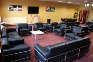 Student common room at Loughry Campus