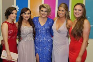 Students at the Loughry Student Formal