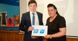 Moy Park Award - Lloyd McClean