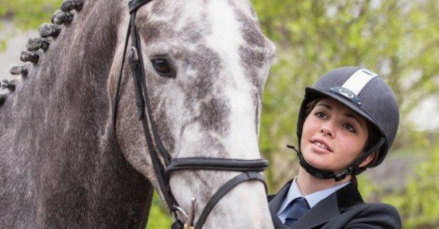 Equine student at Enniskillen Campus