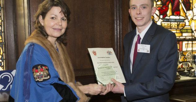 Christopher Quigley Food Apprentice winner