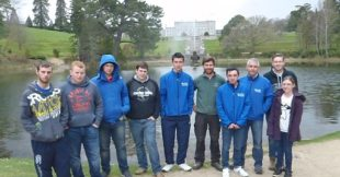Horticulture student trip to Powerscourt