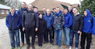 Greenmount student trip at Barenburg Seeds
