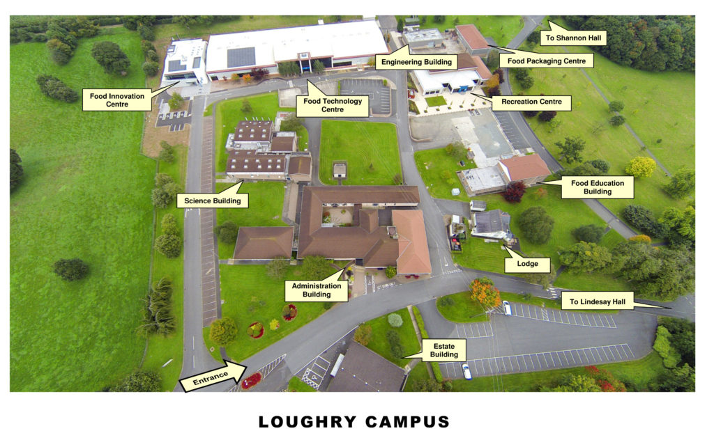 Loughry Campus Aerial Map