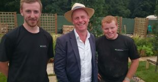 Greenmount Campus Landscaping students at Tatton Park