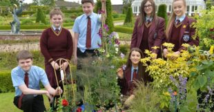 St Puis X students at Greenmount Grow careers day