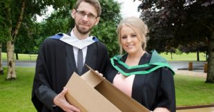 Diamond Packaging graduates at Loughry Campus