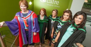 Food Degree graduates at Loughry