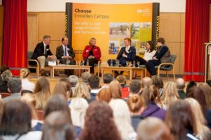 Guests at the recent Enniskillen Careers Day