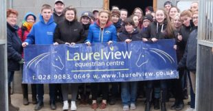 CAFRE Equestrian students visit Laurelview Equestrian Centre