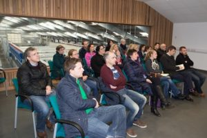 """Teachers listen intently to one of the topics covered at the recent """"Agriculture and Land Use"""" Event at Greenmount Campus."""