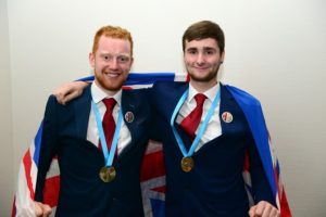 Adam Ferguson & Will Burberry Euroskills