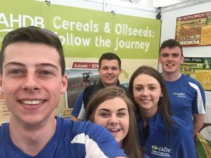 Food Students Balmoral Show 2017
