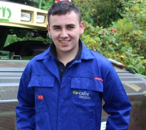 Jordan Murray - Level 3 Extended Diploma in Land-based Engineering student