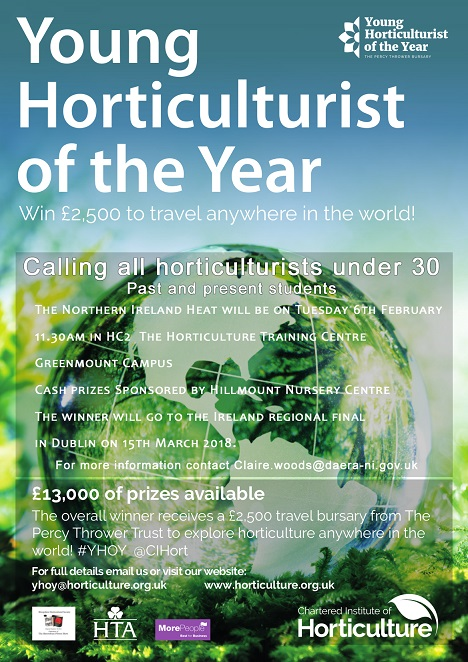 Young Horticulturist of the Year Poster 2018