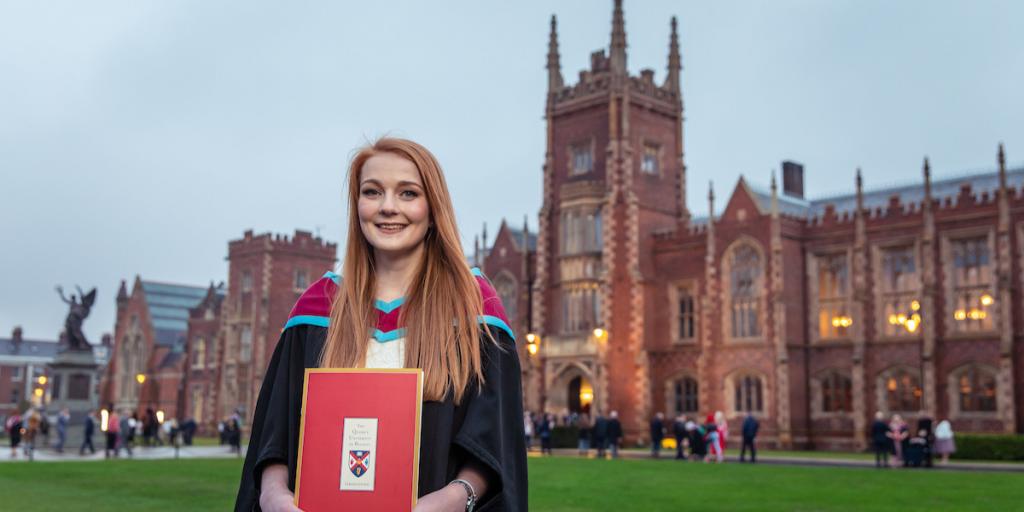 student-graduation-queens-university