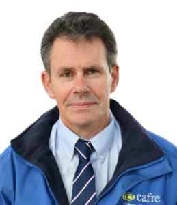 Don Morrow, Head of Dairy, Pigs, Poultry and Crops at CAFRE Greenmount campus