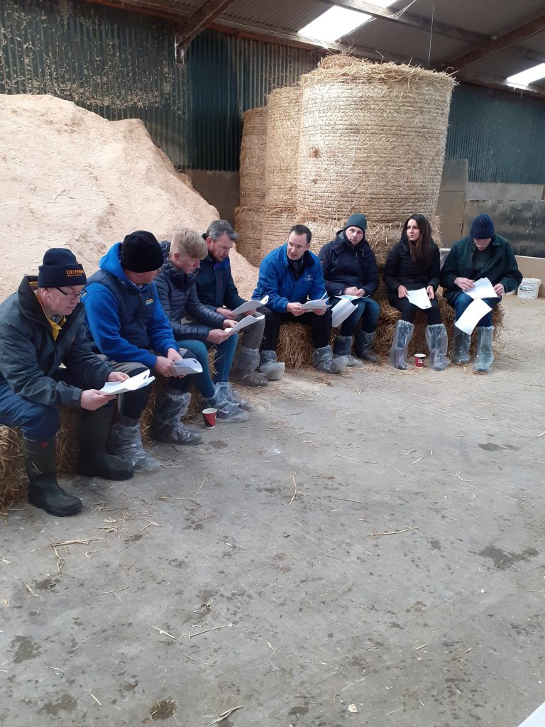 Farmers group meeting