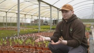 Niall Green, Horticulture student