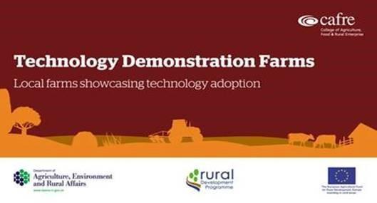 technology demonstration farms banner
