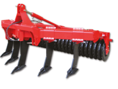 Subsoiler/Shakerator/Paraplough used to alleviate soil compaction