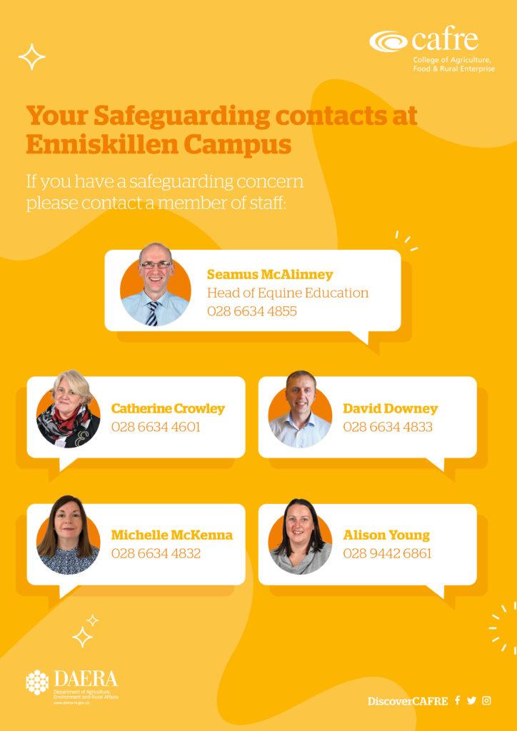 Safeguarding staff at Enniskillen Campus