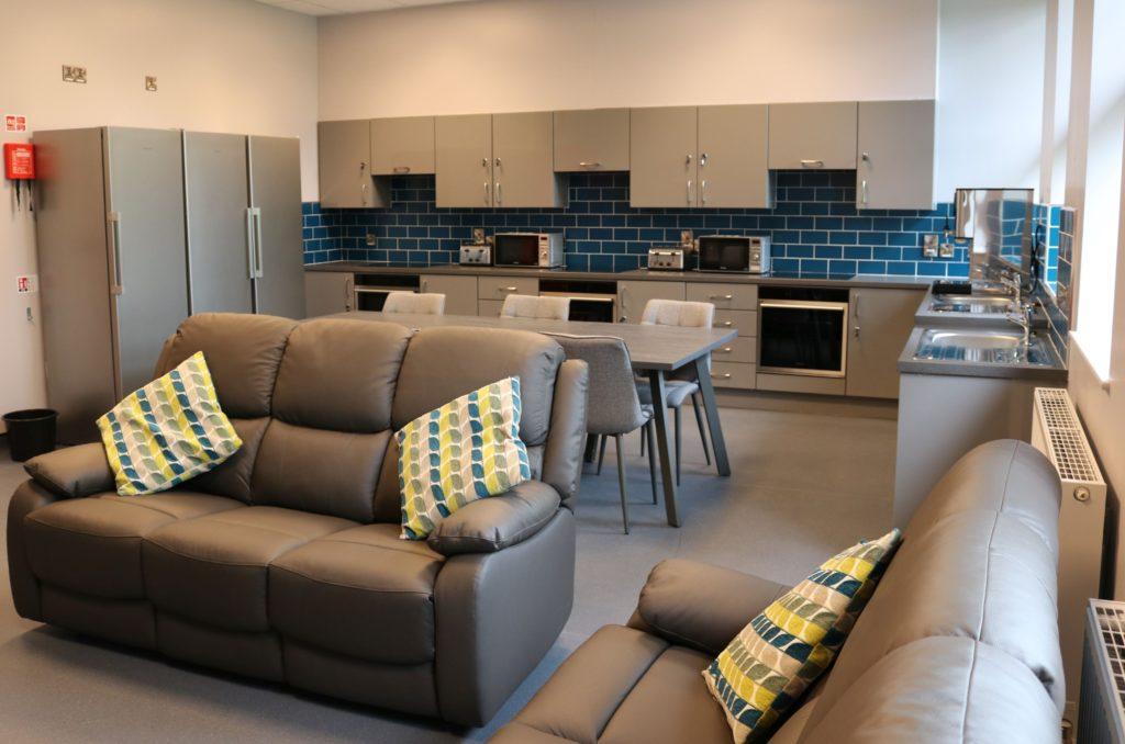 New student kitchen at Enniskillen Campus